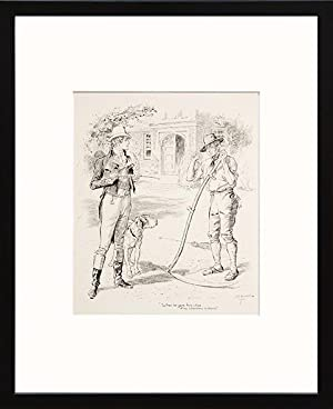 When he gave him notice of his: DICKENS, Charles) BROCK,