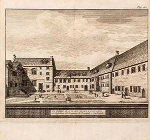 Le Collège de S. Mary-Hall à Oxford.: AA, Pieter van der.