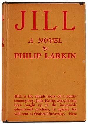 Jill. A novel.: LARKIN, Philip.