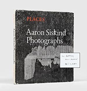 Places. Introduction by Thomas B. Hess.: SISKIND, Aaron.