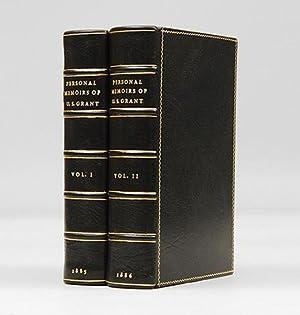 Personal Memoirs of U. S. Grant.: GRANT, Ulysses S.