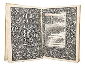 Atalanta in Calydon: A Tragedy.: KELMSCOTT PRESS.) SWINBURNE, Algernon Charles.