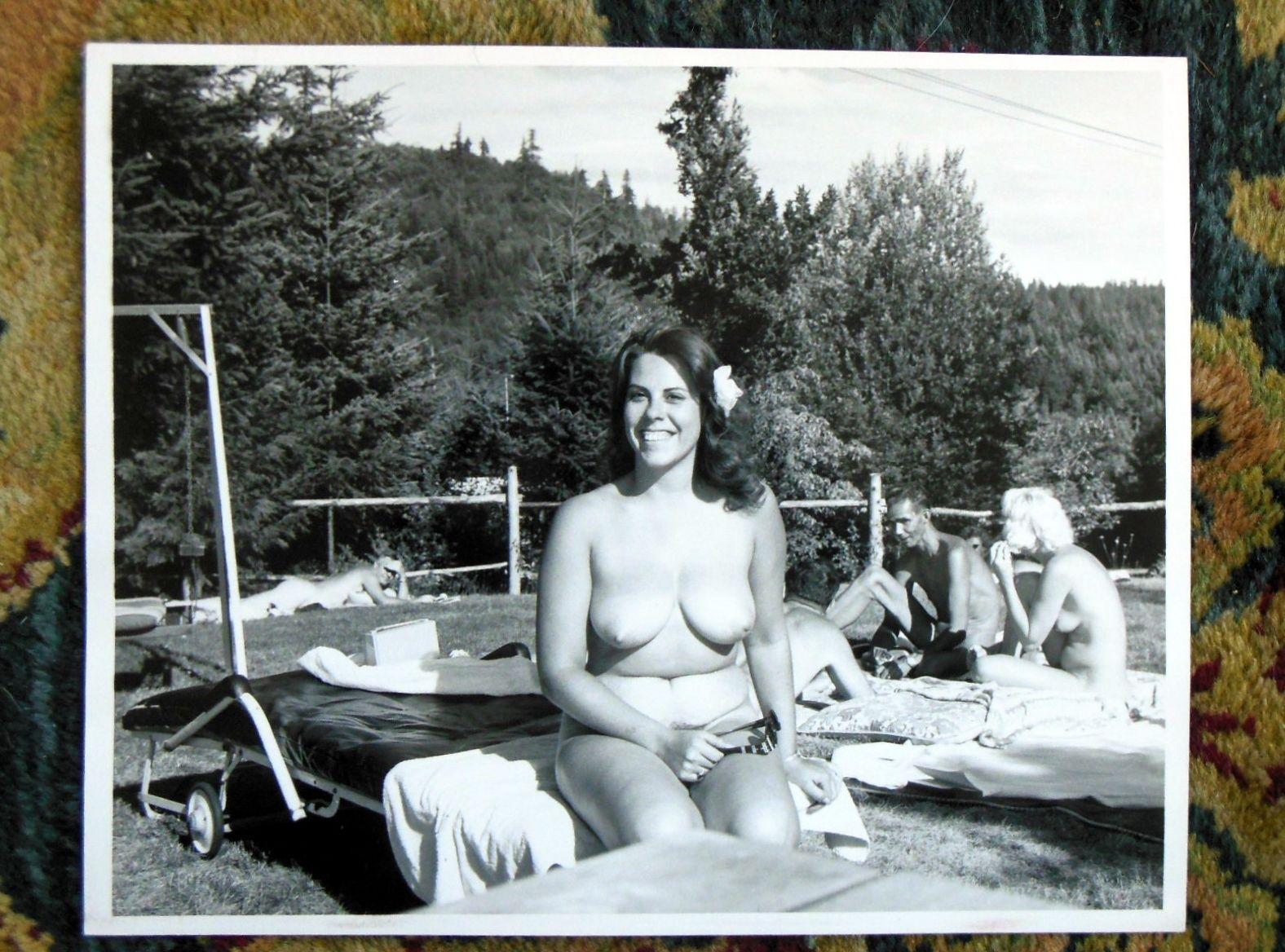The word camp nudist vintage