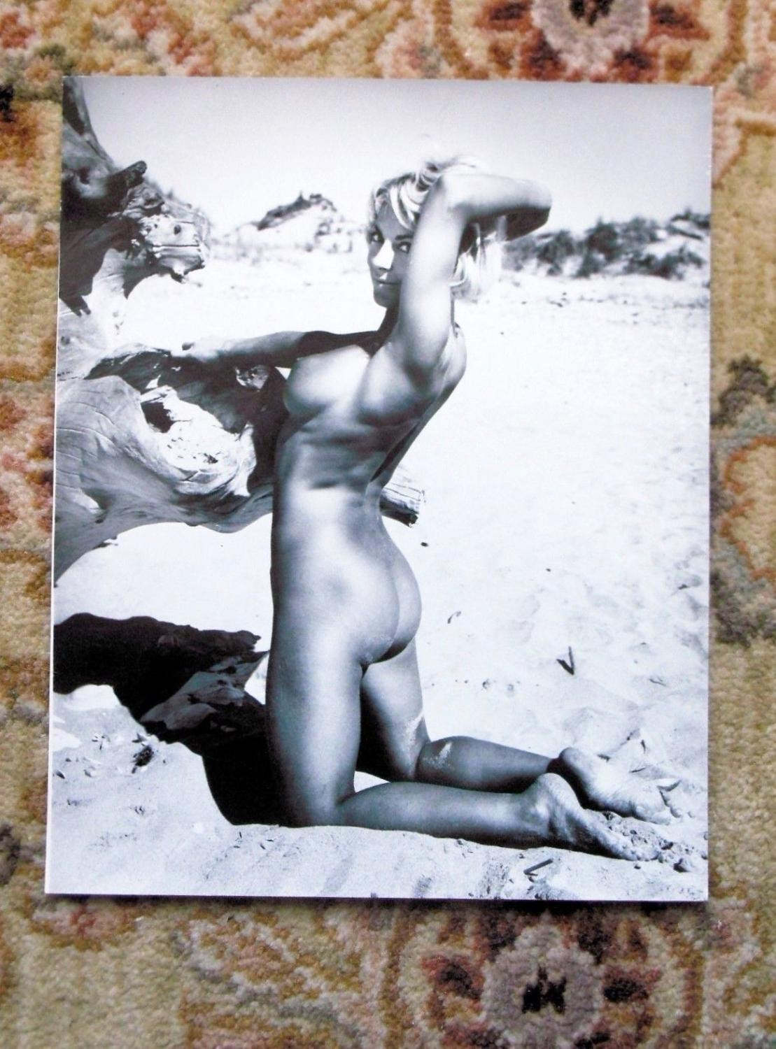 1960s ORIGINAL VINTAGE NUDE PHOTO by JOHN BASHAM of YOUNG BLONDE WOMAN NUDIST Naked on Beach: John ...