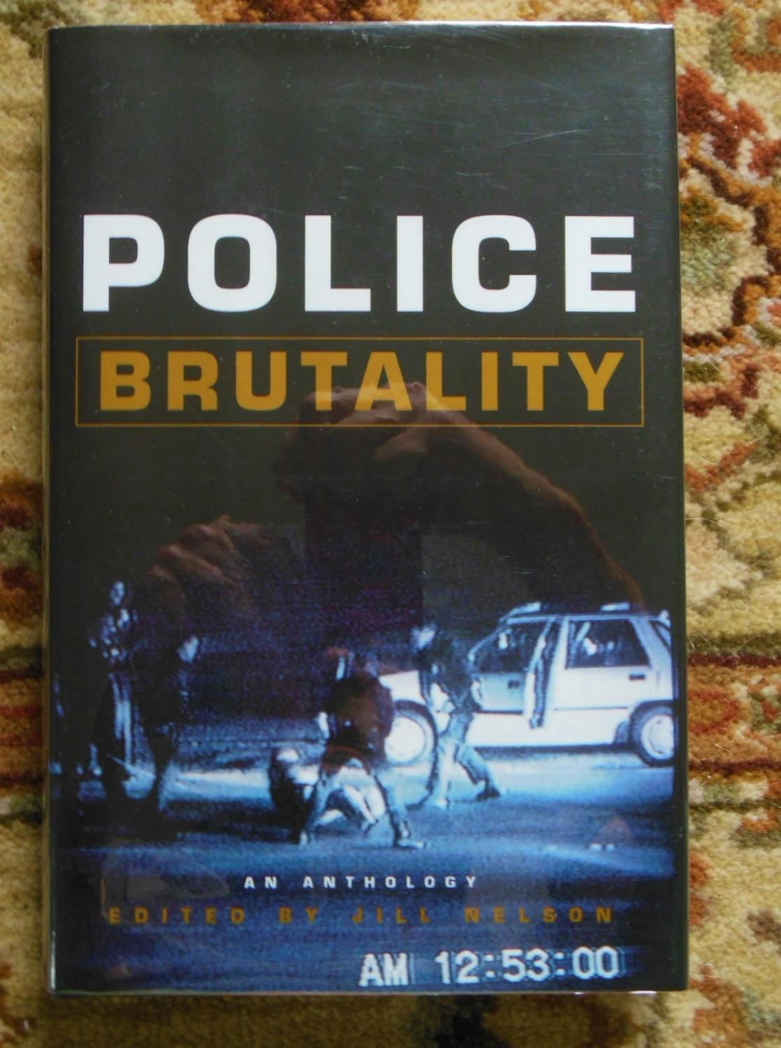 Police Brutality Anthology Signed By Noted Africanamerican Writer Ishmael  Reed: Jill Nelson, Bookseller Image