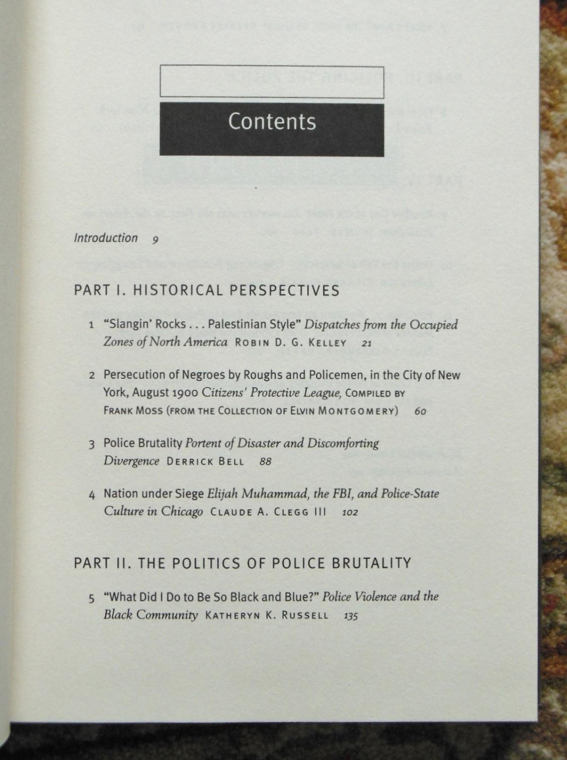Police Brutality Anthology Signed By Noted Africanamerican Writer  Ishmael Reed: Jill Nelson,