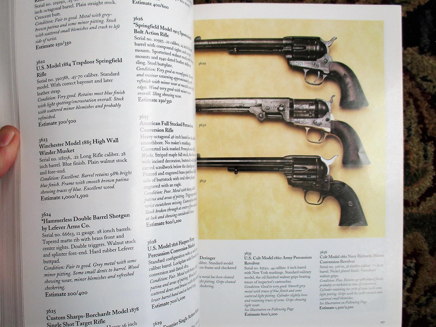COLT FIREARMS COLLECTION of GEORGE R  REPAIRE Butterfield