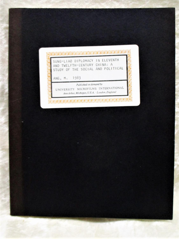 University microfilms dissertations