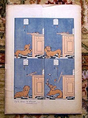 1906 IL GIORNALINO DELLA DOMENICA Rare ITALIAN CHILDREN'S MAGAZINE - Issue No. 2