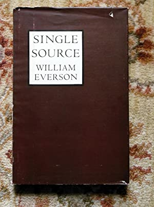 SINGLE SOURCE : The EARLY POEMS 1934-1940 - SIGNED & INSCRIBED