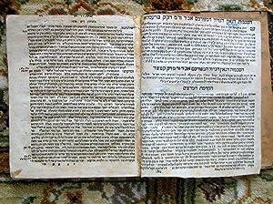 1788 KABBALA RESPONSA CONTROVERSIAL RABBI MENAHEM AZARIAH DA FANO Hebrew-Aramaic: MENAHEM AZARIAH ...