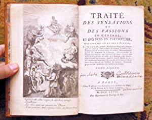 1767 SENSATIONS & PASSIONS of the FIVE SENSES - TWO VOLUMES w/ 19 PLATES - Rare: ...