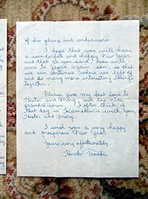 1963 Letter JAPANESE WOMAN to MRS. ELLERY SEDGWICK re: KENNEDY ASSASSINATION: Ellery Sedgwick