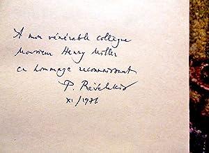 PANDELIS PREVELAKIS - CRETE UPRISINGS 1866 - SIGNED & INSCRIBED TO HENRY MILLER: Pandelis ...