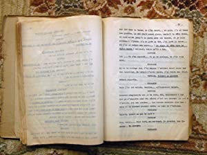 1947 JACQUES DEVAL - ORIGINAL CARBON TYPESCRIPT - LA FEMME DE TA JEUNESSE: Jacques Deval