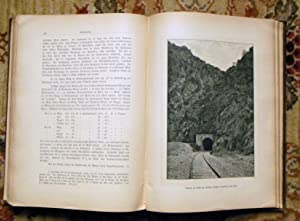 1893 Exploration of ANATOLIA TURKEY for a RAILWAY with 140 ILLUSTRATIONS + MAP: Dr. Edmund Naumann