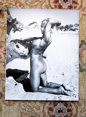1960s ORIGINAL VINTAGE NUDE PHOTO by JOHN BASHAM of YOUNG BLONDE WOMAN NUDIST Naked on Beach: John ...