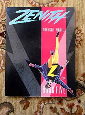 1990 ZENITH BOOK FIVE - SIGNED by both GRANT MORRISON & STEVE YEOWELL - First Edition