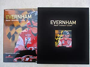 EVERNHAM Racer Innovator Leader **SIGNED & INSCRIBED COLLECTOR'S EDITION #68 of 500** NASCAR MOTO...