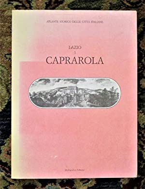 CAPRAROLA, ITALY Large Format Illustrated HISTORICAL ATLAS Published ROME 1986