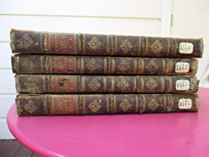 1731 MASTRIUS *4 VOLUME SET* DISPUTATIONES THEOLGICAE / THEOLOGICAL COMMENTARIES