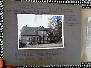 Photo Album of STENLØSE VICARAGE, SJÆLLAND, DENMARK by Woman who Grew Up There