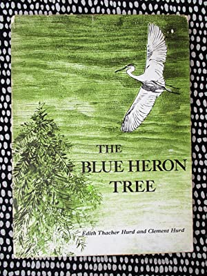 BLUE HERON TREE **SIGNED** Illustrated Children's Book GREAT BLUE HERONS NESTING HABITS First Edi...