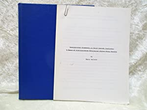 CHILD CUSTODY & VISITATION MEDIATION Original MASTERS THESIS in PSYCHOLOGY 1984