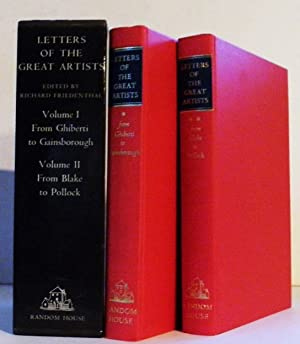 Letters of the Great Artists [Two Volumes: Richard Friedenthal