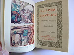Gulliver in Giantland (Stories For The Children): Jonathan Swift; Retold by Edith Robarts