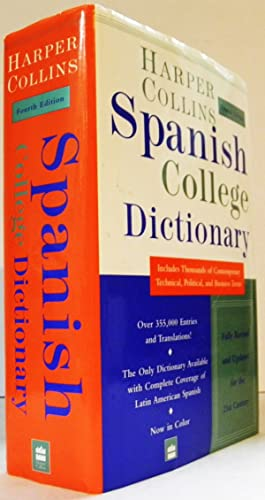 Collins Spanish-English English-Spanish Dictionary: Indexed College Edition