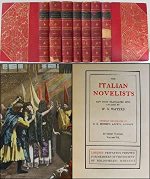 The Italian Novelists. Now First Translated Into English. Choicely Illustrated By E. R. Hughes. i...