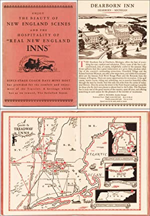 The Story of Real New England Inns; showing wherein the weary toiler may enjoy the beauty, rest and...
