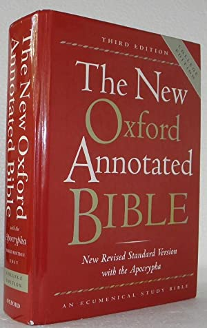 The New Oxford Annotated Bible; New Revised Standard Version with the Apocrypha, Third Edition (H...