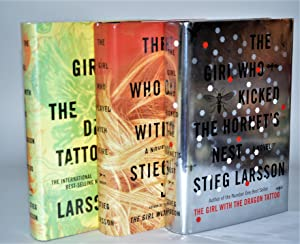 Millennium Series: The Girl with the Dragon Tattoo, The Girl Who Played with Fire, The Girl Who K...