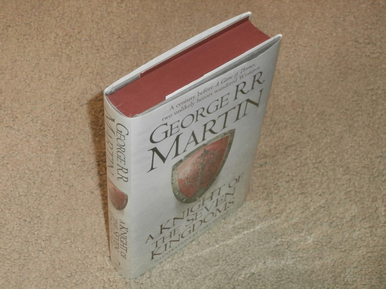 A Knight Of The Seven Kingdoms Vf Waterstones Uk 1st Edition 1 George Rr Martin