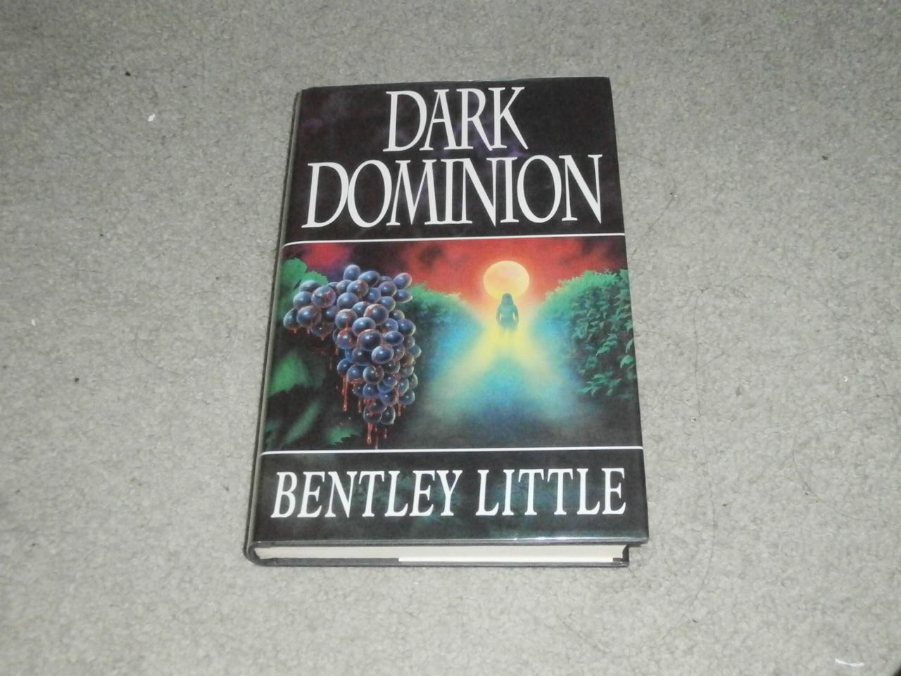 DARK DOMINION: SIGNED AND LENGTHILY INSCRIBED UK FIRST