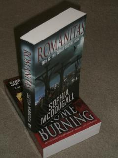 ROMANITAS: VERY FINE UK UNCORRECTED PROOF SIGNED: Sophia McDougall