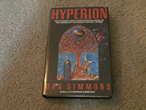 HYPERION: VF/VF SIGNED UK FIRST EDITION HARDCOVER: Dan Simmons