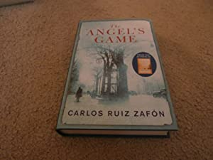THE ANGEL'S GAME: VF/VF SIGNED UK 1ST: CARLOS RUIZ ZAFON