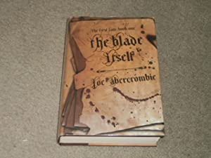 THE BLADE ITSELF: SIGNED LINED DATED UK: Joe Abercrombie