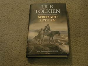 BEREN AND LUTHIEN: VF/VF UK FIRST EDITION: J.R.R. Tolkien; Christopher