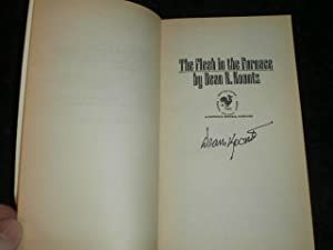 THE FLESH IN THE FURNACE: SIGNED US: Dean Koontz