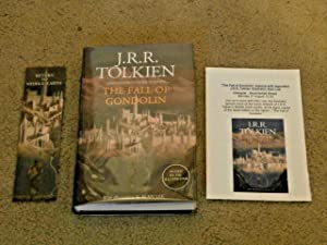 THE FALL OF GONDOLIN: VF/VF UK FIRST: J.R.R. Tolkien; Christopher