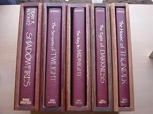 THE SERVANTS OF TWILIGHT, SHADOWFIRES, THE EYES: Dean Koontz