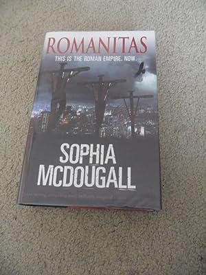 ROMANITAS: VF/VF SIGNED UK 1ST EDITION 1/1: Sophia McDougall