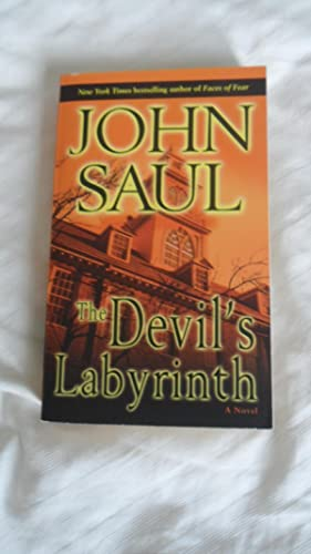 THE DEVIL'S LABYRINTH - VERY FINE SIGNED: John Saul