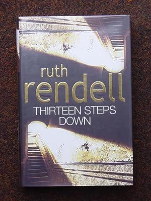 THIRTEEN STEPS DOWN VF/VF SIGNED UK 1ST: Ruth Rendell