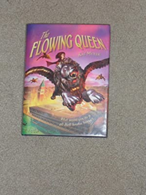 THE FLOWING QUEEN: VF/VF SIGNED UK 1ST: Kai Meyer