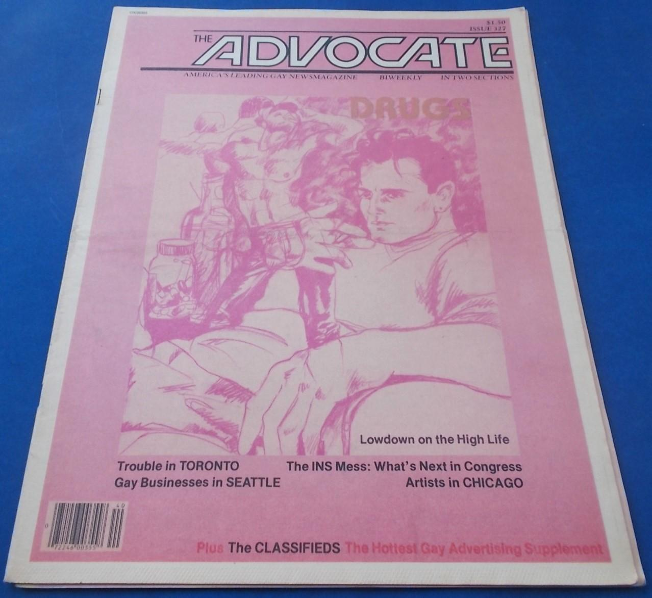 The Advocate (Issue No  327, October 1, 1981
